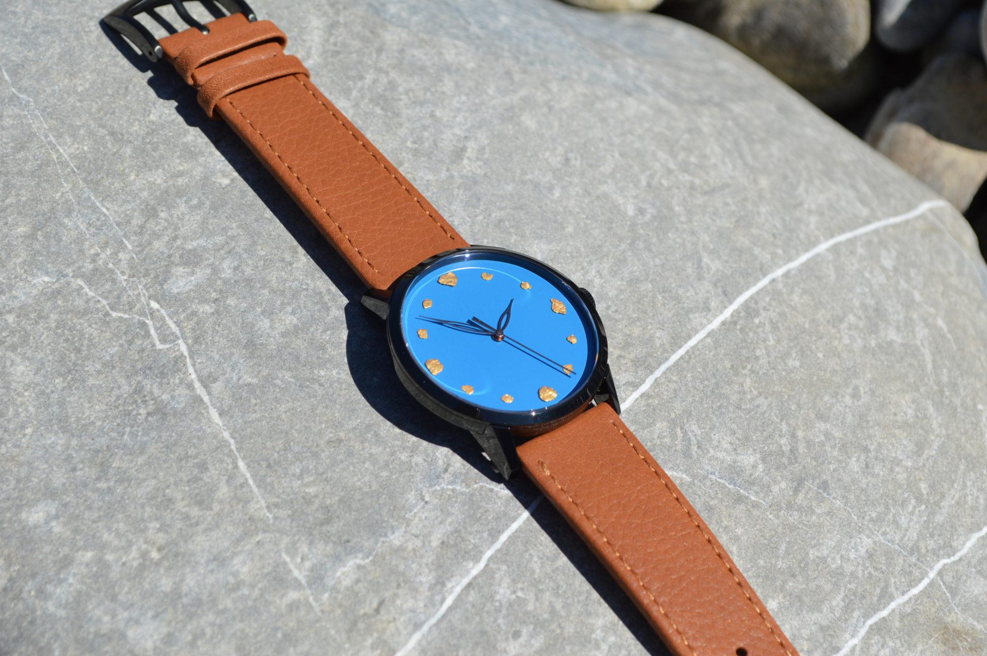 The Swiss Mountain Gold Watch
